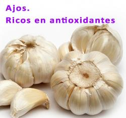 ajos antioxidantes