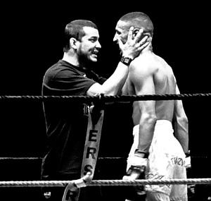 entrenador boxeo